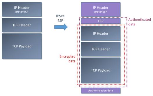 IPSec - ESP