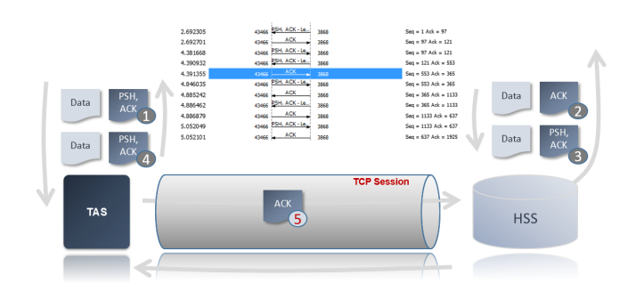 TCP stream